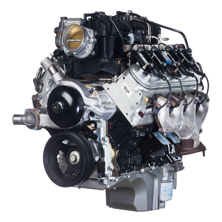 Image of a General Motors 4.8 or 6.0 liter engine