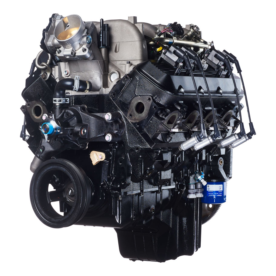 Image of a General Motors 8.1L engine