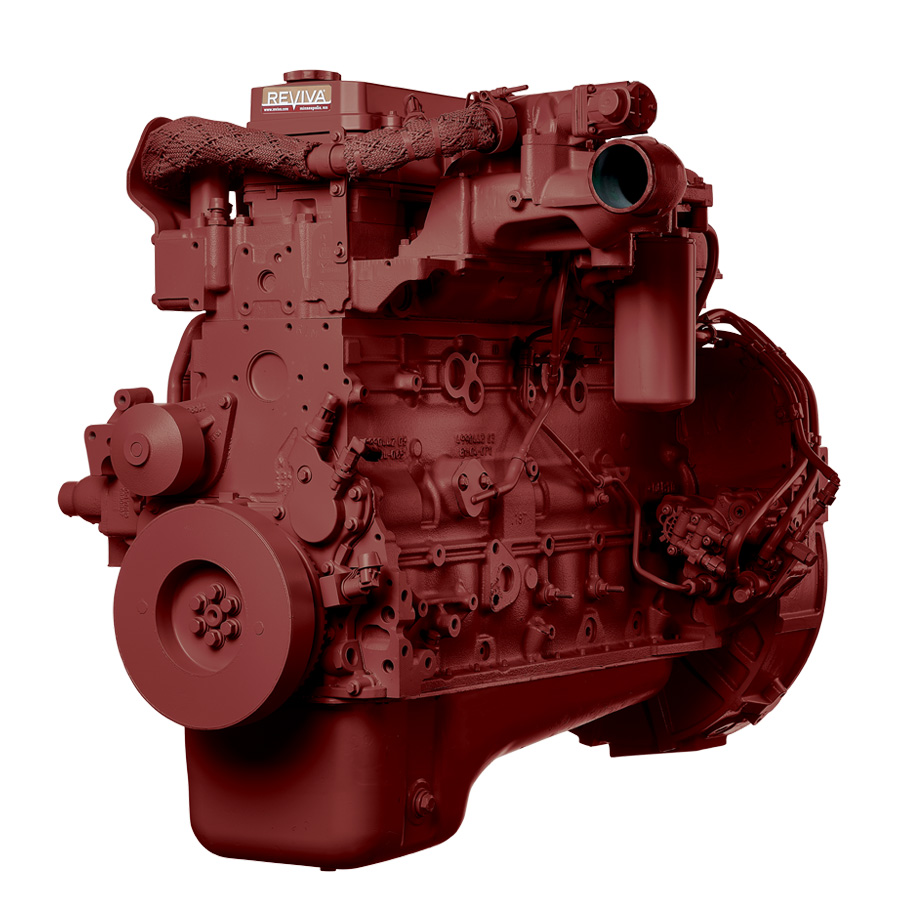Cummins ISB07 6.7L HP Common Rail Rear Gear Diesel Engine